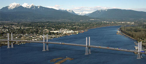 Golden Ears Bridge - Photo Rendering 03/06